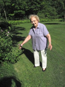 Grammy's other great love, gardening
